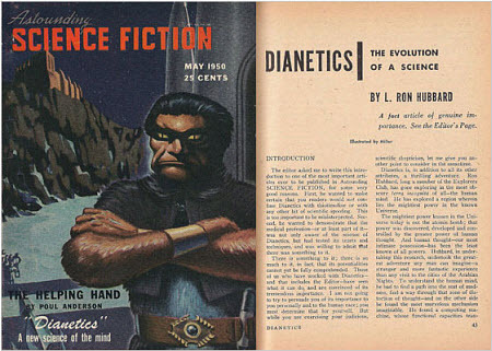 "Astounding Science Fiction: ""Dianetics"", A New Science of the Mind"