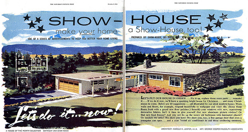 "Building Suburbia: ""Make Your House a Showhouse Too!"""