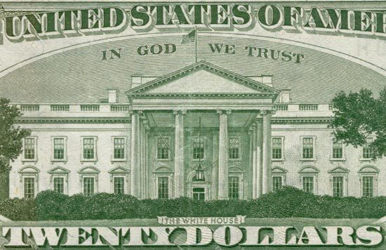 """In God We Trust"", Twenty Dollar Bill"