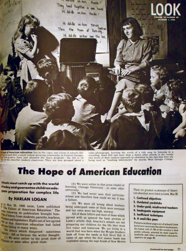 The Hope of American Education: Schools Must Catch Up With Today's World