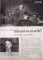 Are Our Teachers Afraid to Teach?